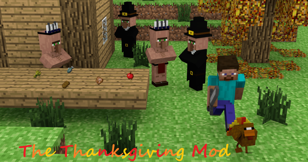 A Minecraft Thanksgiving [Image]