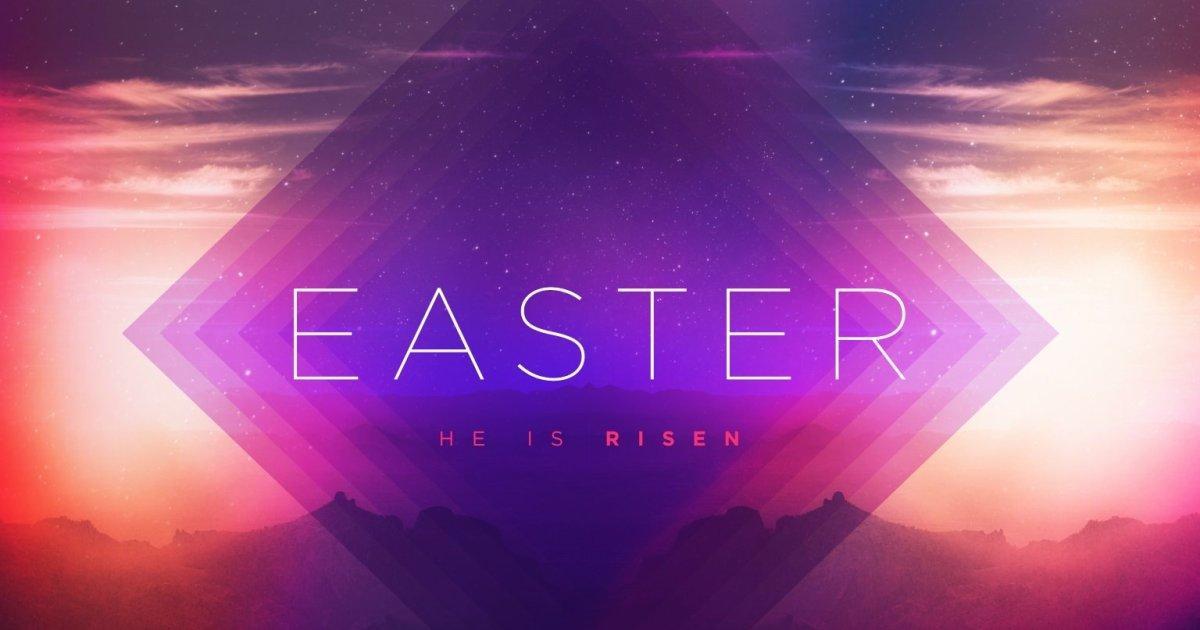 free easter media for church presentation