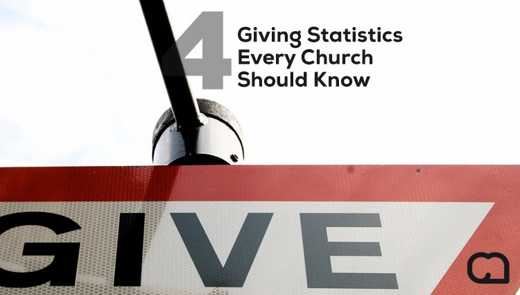 4 Giving Statistics Every Church Should Know