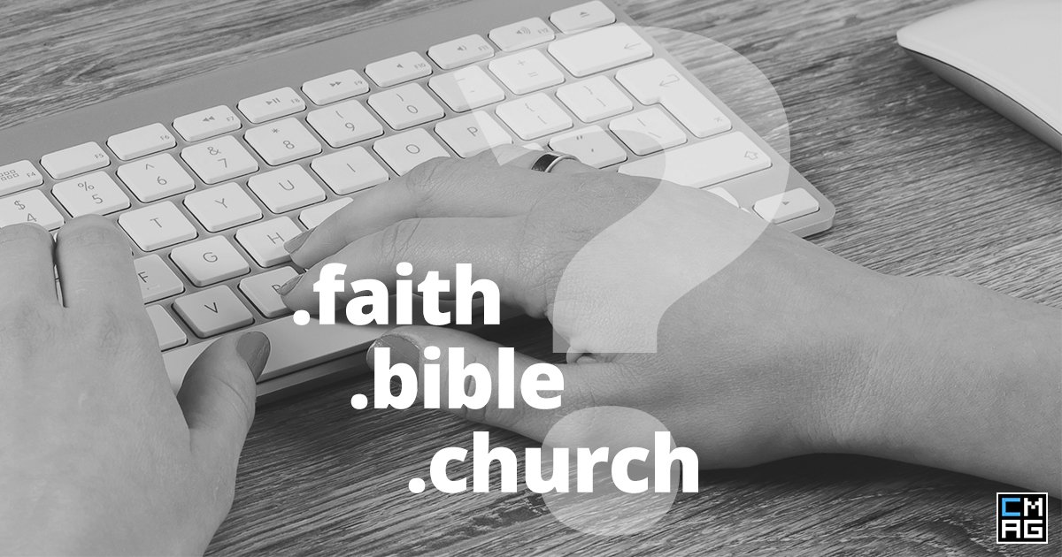 Search Engine Optimization and New Church-Related Top-Level Domains