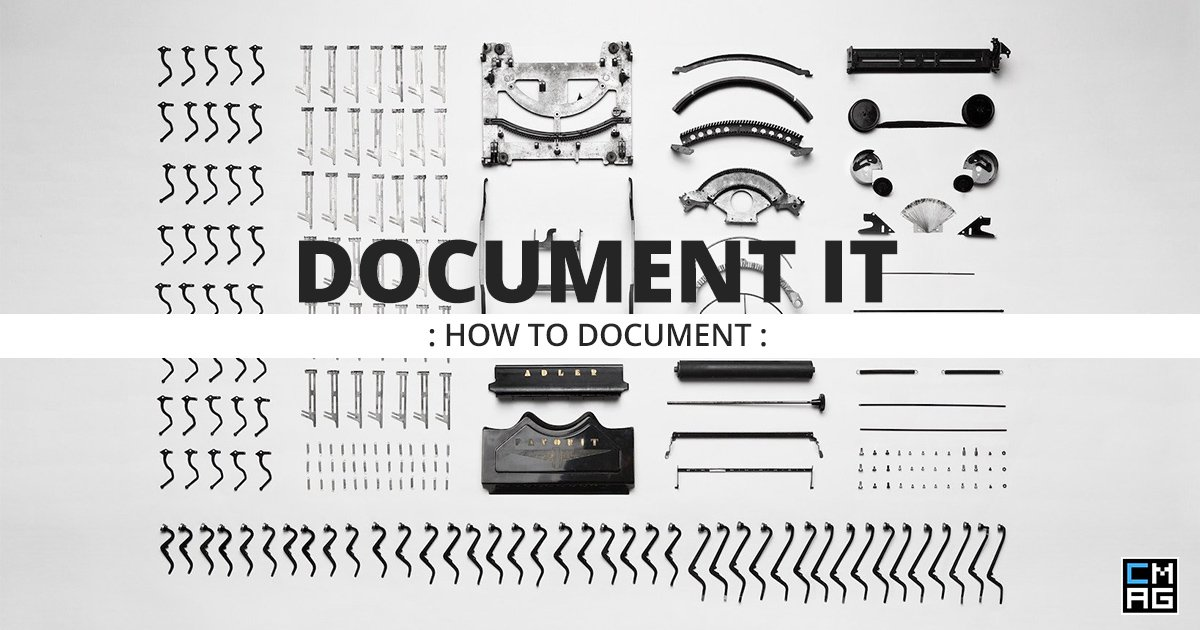 Document It: How To Document