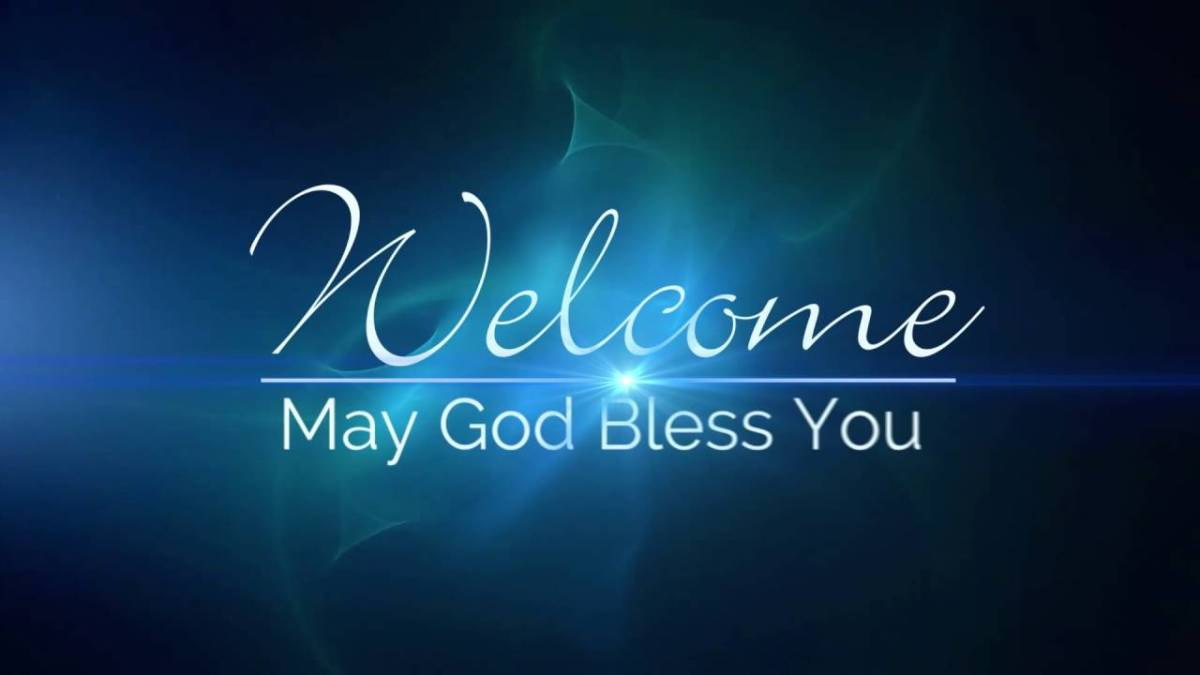 Image result for welcome may god bless you