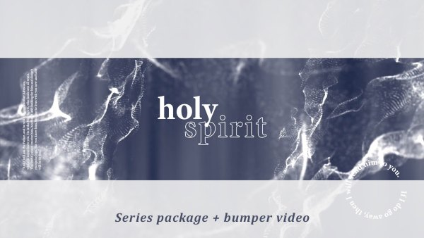Holy Spirit Series Graphic