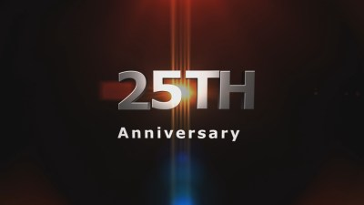 25th anniversary 2 Christian Animated Still A professional animated intro that's stops on a still image without continuous movements distraction