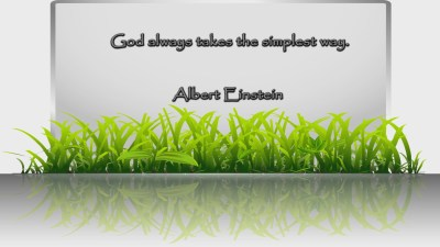 Albert Einstein Quote 1 Christian Animated Still A professional animated intro that's stops on a still image without continuous movements distraction