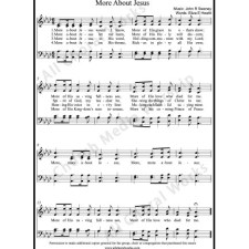 More about Jesus Sheet Music (SATB) with Practice Music tracks. Make unlimited copies of sheet music and the practice music.