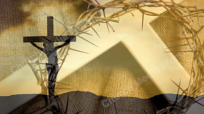 Good Friday to Easter Christian silent video. A professional video that goes very well with music and with worship. Smooth transitions for hymn or sermon