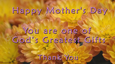 Mothers Day Tribute Christian Worship Video A professional video that goes well with Sermons, Music, and worship. Dedicated to spreading the Gospel.