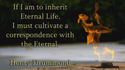 Henry Drummond Quote 1 Christian Animated Still A professional animated intro that's stops on a still image without continuous movements distraction