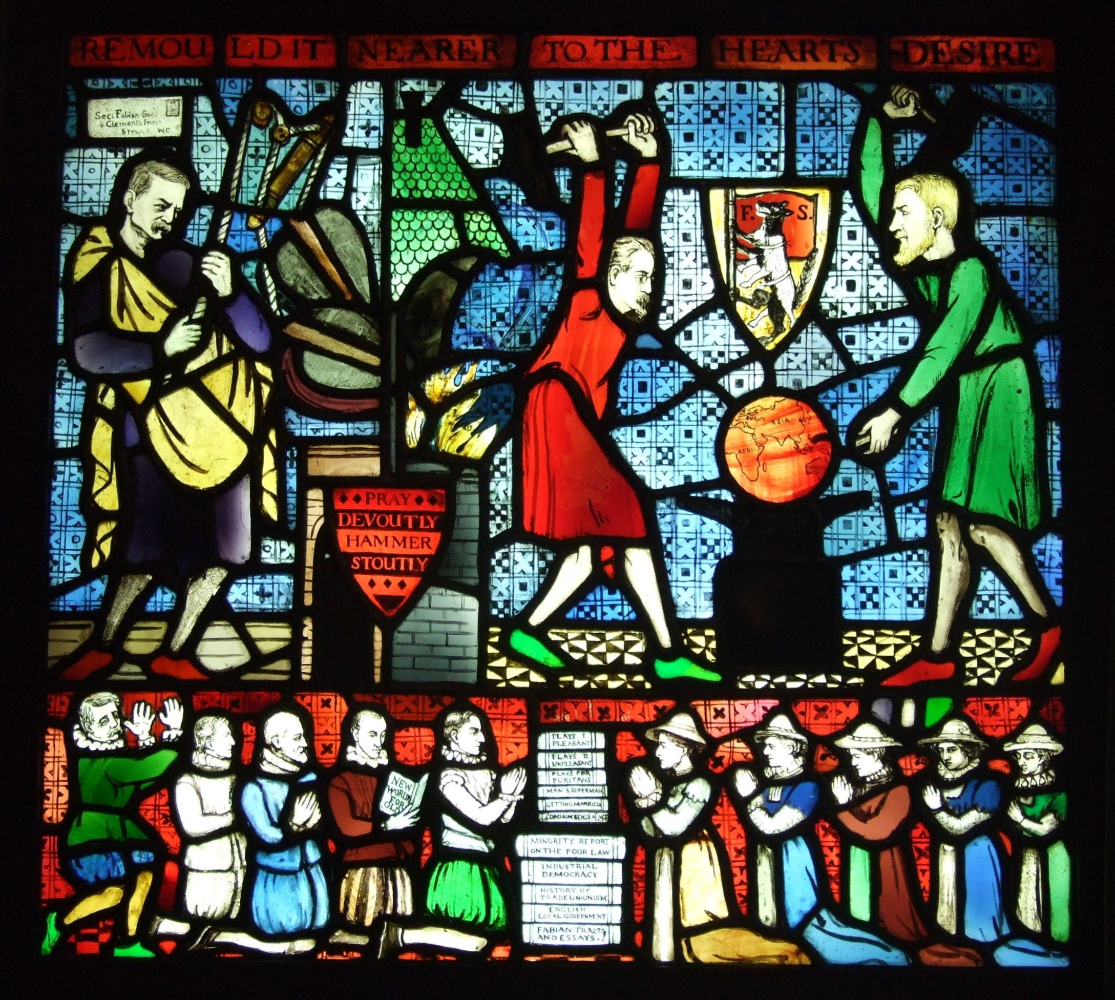 The Fabian Society The Third Way And Modern British