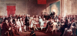 Signing of the Constitution, ca. 1860-1870