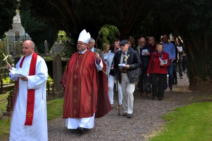 Palm Sunday Procession in Douglas