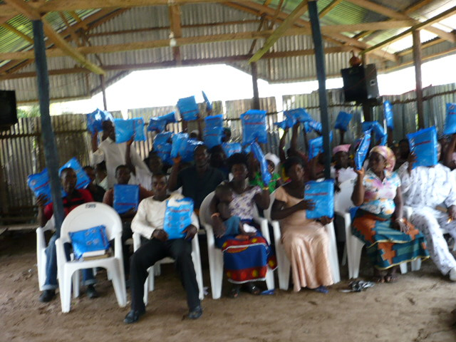 Distribution of Nets at Inikorogha church