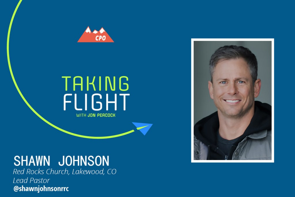 Shawn Johnson of Red Rocks Church, Taking Flight Interview