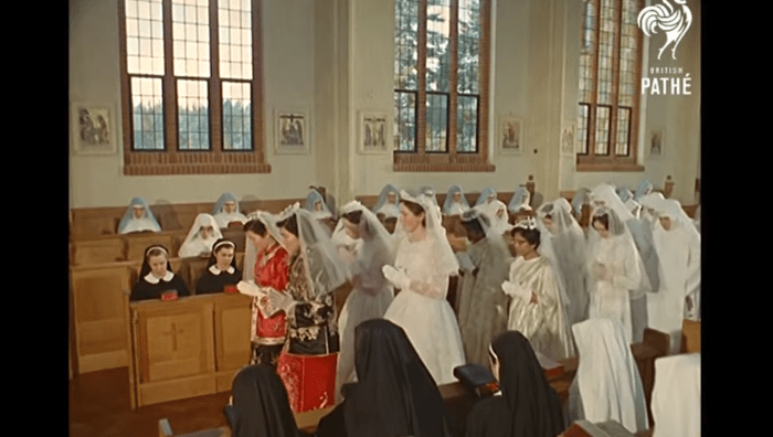 What A Ceremony For A Nuns Vows Looked Like In 1962