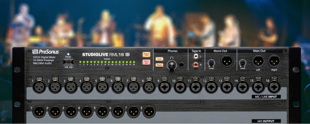 church sound system - the digital mixer