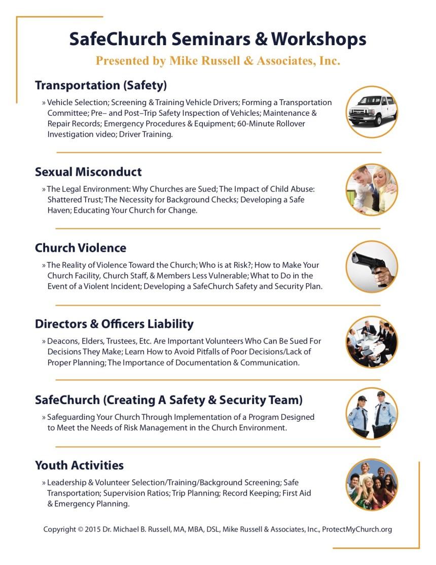 covenant center-seminars flyer