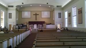 New City Fellowship sanctuary
