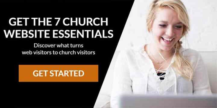 get the 7 church website essentials discover what turns web visitors to church visitors