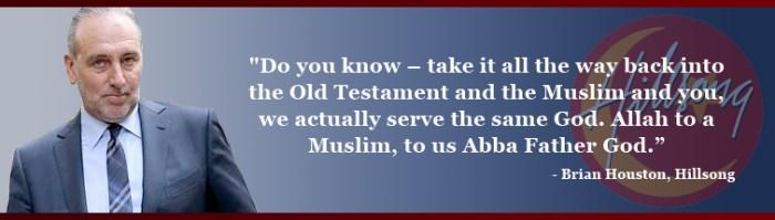 Brian Houston Allah Comment Hillsong