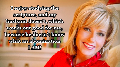 Beth Moore emasculting husband