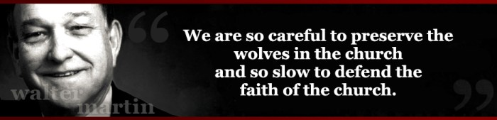 Walter Martin Quotes - defending wolves 3