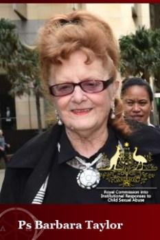 Royal Commission - Barbara Taylor