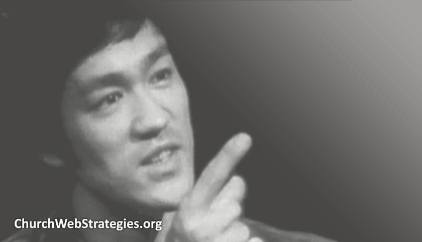 Digital Ministry Lessons from Bruce Lee