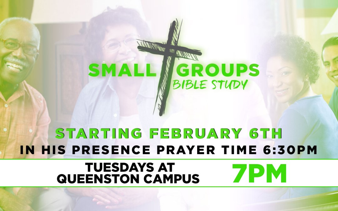 Small Group Bible Study Winter Session Registration is Now Open