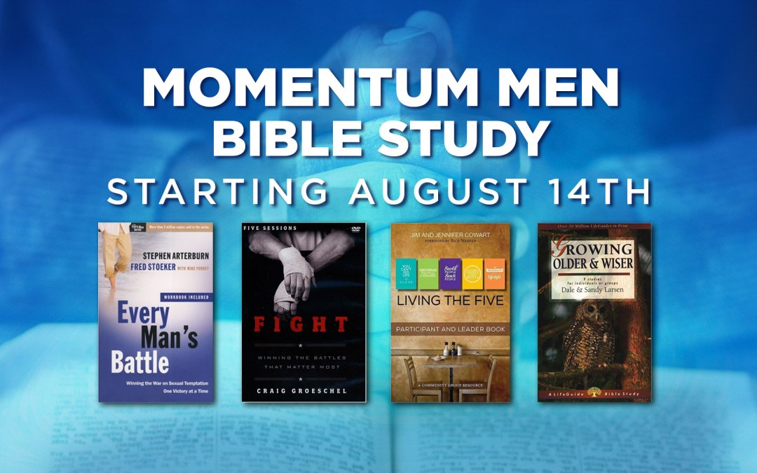 Momentum Men Small Group Bible Studies – Register Now