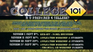 College 101 Workshop