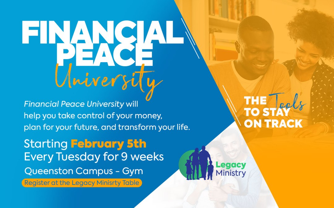 Take Control of Your Money – Sign Up for Financial Peace University Today