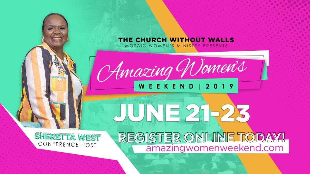 Amazing Women Weekend 2019