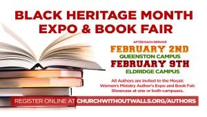 Black heritage month book fair