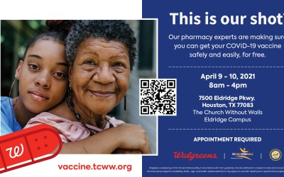 TCWW partners with Walgreens and City of Houston to offer COVID-19 Vaccines