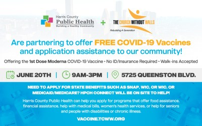COVID-19 Vaccine at The Church Without Walls