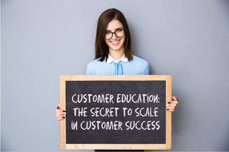 customer education the secret to scale in customer success