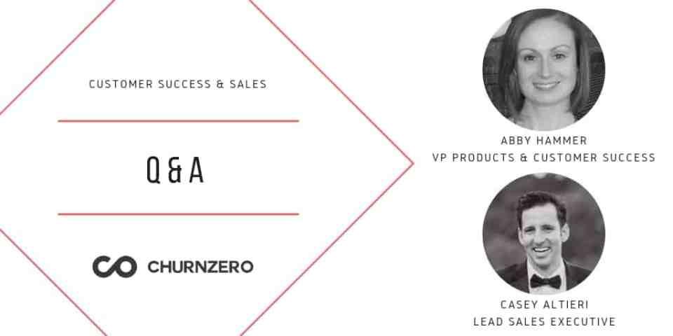 customer success and sales q&a