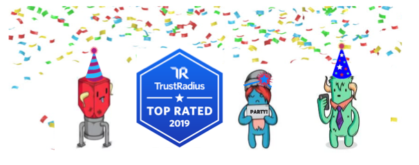Trust Radius - Top Rated - Customer Success