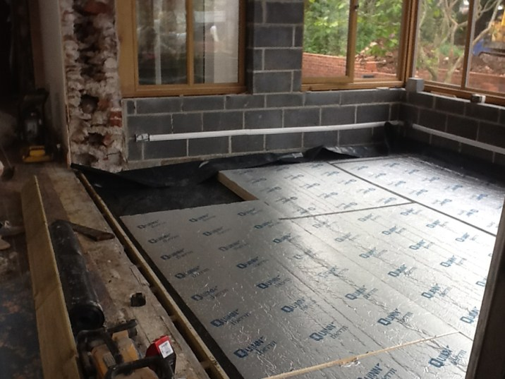 Landscaping and extension Brixham 12