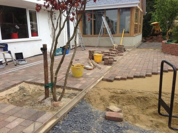 Landscaping and extension Brixham 16