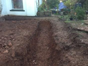 Landscaping and extension Brixham 3