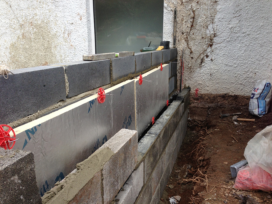 Landscaping and extension Brixham 4