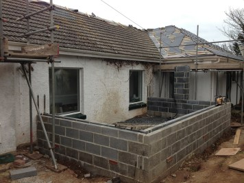 Landscaping and extension Brixham 5