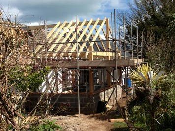 Landscaping and extension Brixham 6