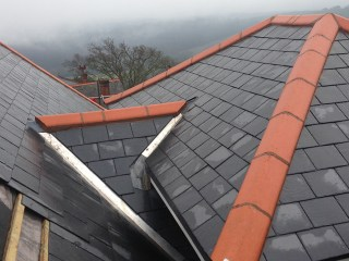 Complex pitches and gables require careful access