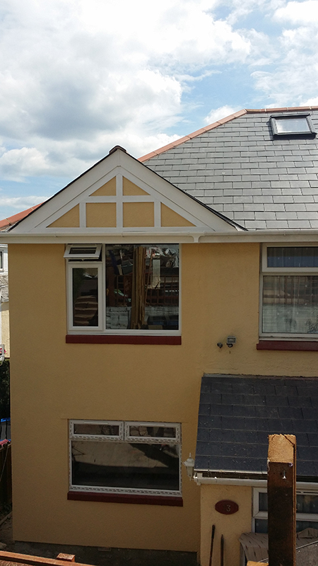 two-storey extension Paignton