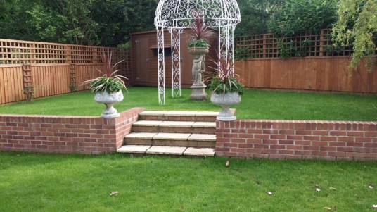 Landscaping and extension Brixham 27