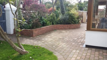 Landscaping and extension Brixham 28