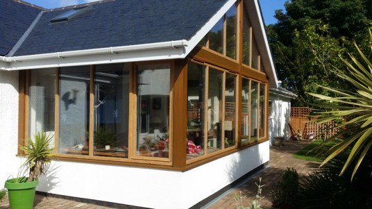 Landscaping and extension Brixham 26